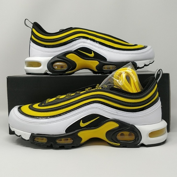 92c5f8f424 Nike Shoes | Air Max Plus97 Tour Yellow White Av7936100 | Poshmark